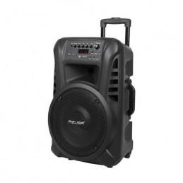 """Kolumna głośnikowa aktywna AZUSA 12"""" ( z 2 mikrofonami bezprzewodowymi, SD, Bluetooth, USB i aku.) / MIK0135"""