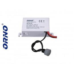 Automat-czujnik zmierzchowy z sondą zewn. IP54 ORNO - OR-CR-227