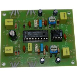 J-42 Przedwzmacniacz z regulacją siły głosu, barwy i balansu (stereo) - KIT