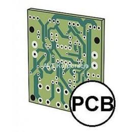 AVT2392A Płytka drukowana wzmacniacza mikrofonowego SMD