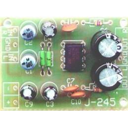 J-245 Miniaturowy wzmacniacz stereo z układem TDA2822 - KIT