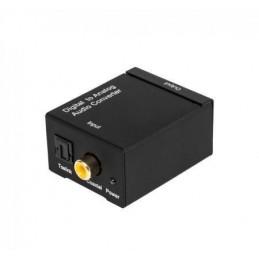 Konwerter sygnału AUDIO cyfra/analog (optyczne/RCA)