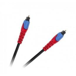 Złącze optyczne TOSLINK 1,0m Cabletech standard
