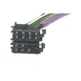 Złącze ISO wtyk głośnikowy i zasilający zespolone