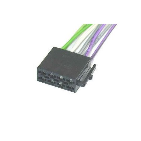Złącze ISO wtyk głośnikowy 8-PIN