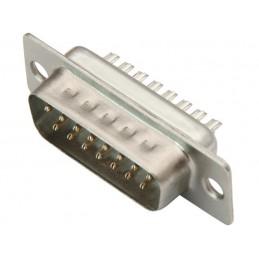 Wtyk D-SUB DB15 15-pin na kabel - 9614