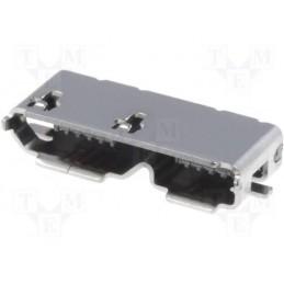 Gniazdo micro-USB 3,0 smd - MUSBB-G3.0-SMD