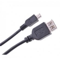 Złącze USB A-mini-USB gn-wt. 5-pin 1,0m - KPO2905-1
