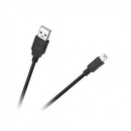 Złącze USB A-mini-USB wt-wt 1,0m Cabletech Eco-Line - KPO4010-1.0