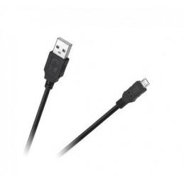 Złącze USB A-micro-USB wt-wt 0,2m Cabletech Eco-Line - KPO4009-0.2