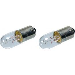 Żarówka BA9s 12V 2W np.do lutownic transformat. - LAMP-ML1812