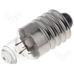 Żarówka E10 2,2V 250mA soczewkowa - LAMP-ES-2.2-250