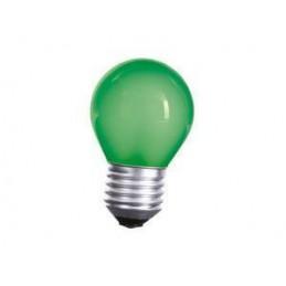 Żarówka E-27 15W K45 zielona Spektrum do kolorofonu