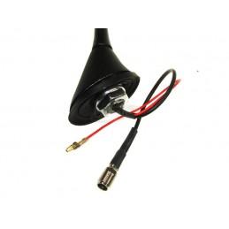 Antena samochodowa VW-SKODA-OPEL ze wzmacniaczem - 007603