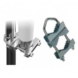 Uchwyt-cybant antenowy, podwójny do łączenia masztów - BX5115