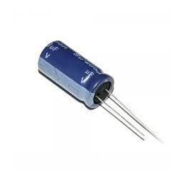 Kondensator 47uF/25V elektrolit 105st.c 47/25