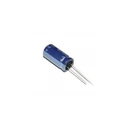 Kondensator 22uF/50V elektrolit 105st.c 22/50V