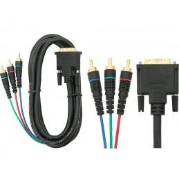 Złącze DVI-3xRCA 3,0m - 92-043