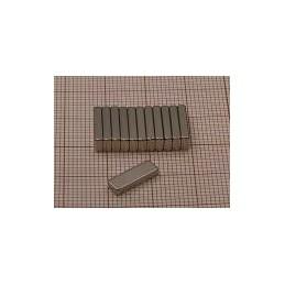 Magnes neodymowy MPL 12x4x2 płytkowy / N38