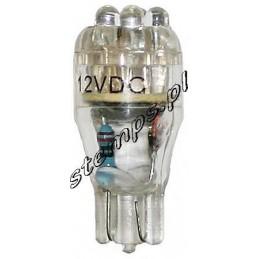 Żarówka LED R-10-13 12V biała 6xLED