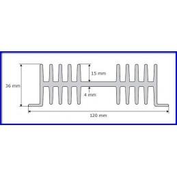Radiator A4129 L-7cm