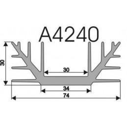 Radiator A4240 L-3cm