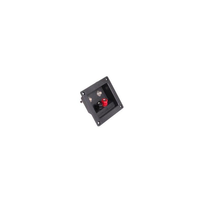 Gniazdo głośnikowe TERMINAL (2x banan+2x Jack) / GNI0243