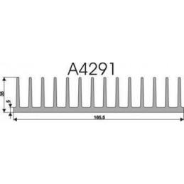 Radiator A4291 L-7cm