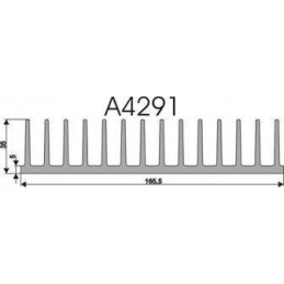 Radiator A4291 L-10cm