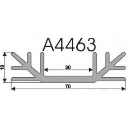 Radiator A4463 L-5cm