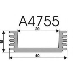 Radiator A4755 L-5cm
