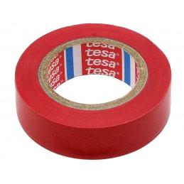 Taśma izolacyjna TESA PVC 20m/19mm czerwona