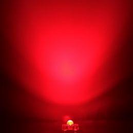 Dioda LED czerwona 3mm SUPER FLUX 580mcd / LUE106B3