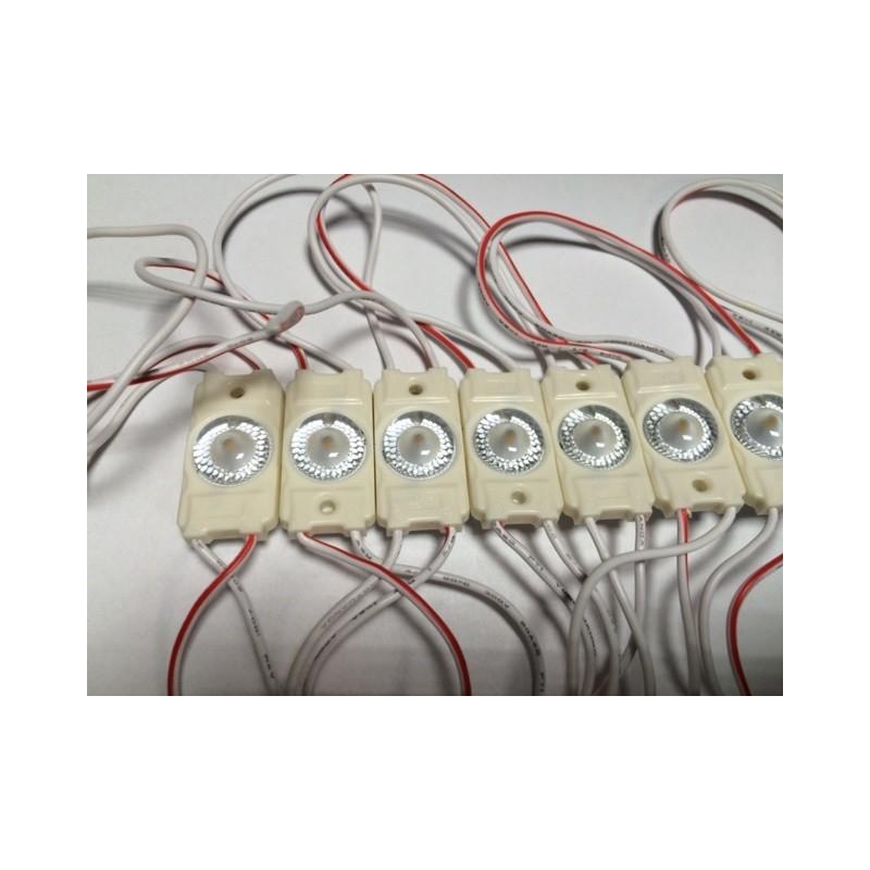 Moduł LED 36x20x7mm 1.44W 120 lm biały ciepły 3000K IP65 12VDC