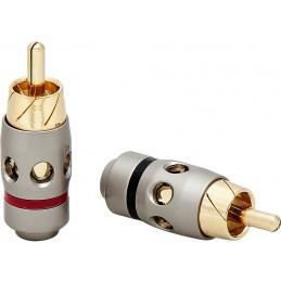 Wtyk RCA na kabel CH31 professional śr.5mm / 15-031
