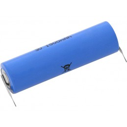 Bateria CR14505 3V 1500mAh 50x14,3mm do lutowania