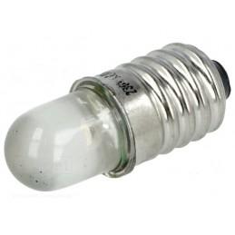 Żarówka LED E10 z gwintem 230VAC / LW-E10-230AC