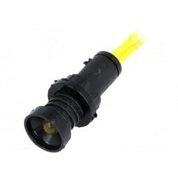 Kontrolka LED 10mm 230VAC żółta / LKM220-Y