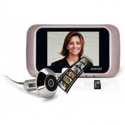 """Elektroniczny wizjer 2,8"""" do drzwi z nagrywaniem ORNO / OR-WIZ-1101"""