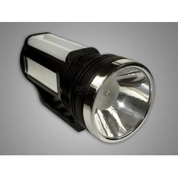 Latarka ręczna LED 1W+16SMD akumulatorowa