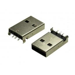 Wtyk USB A SMD do druku