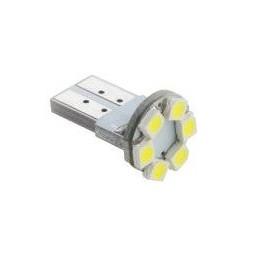 Żarówka LED R-10 12V biała 6xLED SMD3528 CANBUS / ZAR0382
