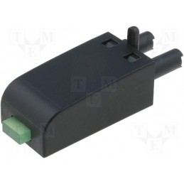 Moduł zabezpiecz. przekażnika z LED zielona  / M92G