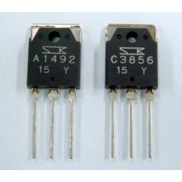 Tranzystor 2SA1492 + 2SC3856 (para komplementarna)