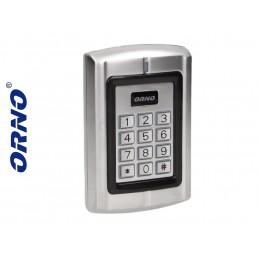 Zamek szyfrowy z czytnikiem kart i breloków zbliż. IP44 ORNO / OR-ZS-802