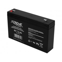 Akumulator żelowy 6V 7,2Ah...