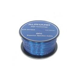 Przewód głośnikowy 2x0,5 OFC ALPHARD SUPERIOR 0,50 mm² niebieski