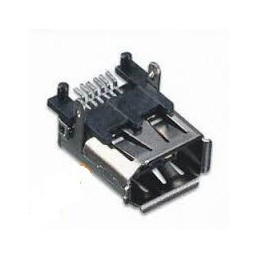 Gniazdo FIRE-WIRE IEEE 6-pin smd