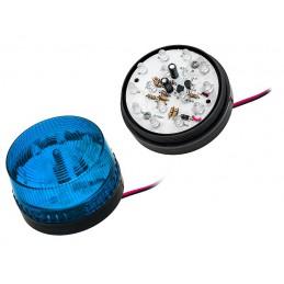 Sygnalizator optyczny LED HC-05 niebieski / 26-425