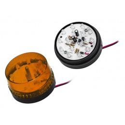 Sygnalizator optyczny LED HC-05 pomarańczowy / 26-426
